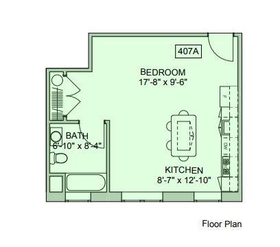 Studio 1 Bathroom Apartment for rent at The Ogontz in Philadelphia, PA