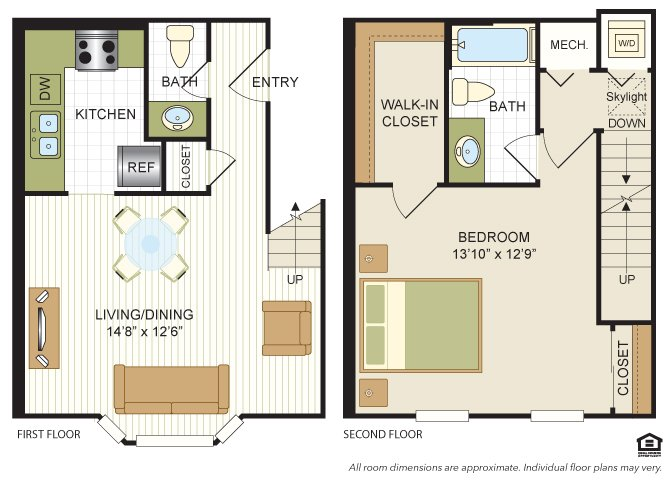 1 Bedroom 1 Bathroom Apartment for rent at Vaughan Place in Washington, DC
