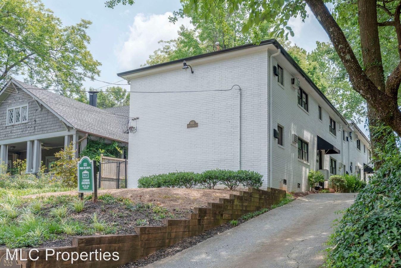 1 Bedroom 1 Bathroom Apartment for rent at 833 Ponce De Leon Place in Atlanta, GA