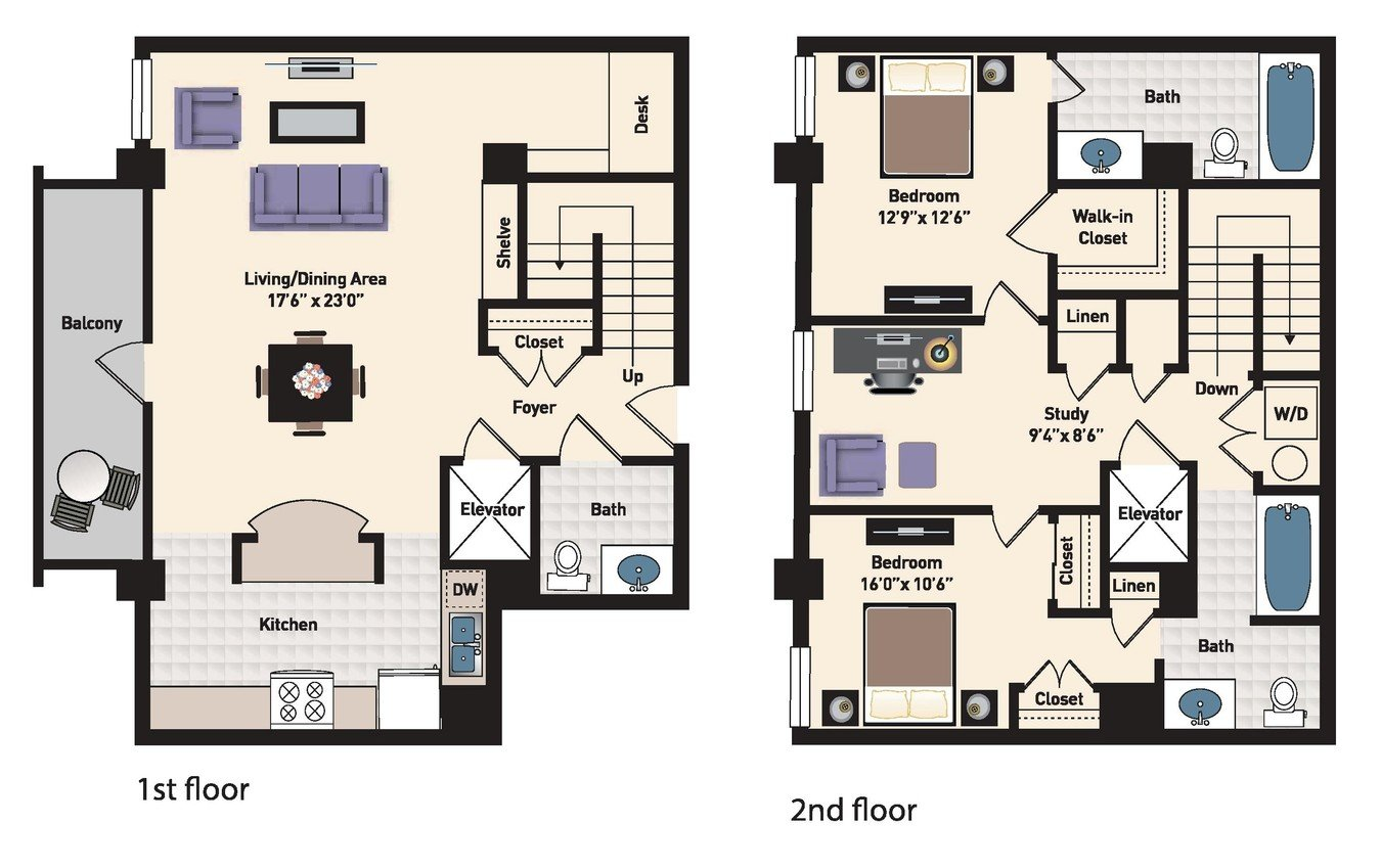 2 Bedrooms 2 Bathrooms Apartment for rent at The Residences At Capital Crescent Trail in Bethesda, MD