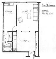 1 Bedroom 1 Bathroom Apartment for rent at 1010 Catherine St in Ann Arbor, MI
