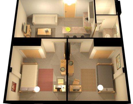 2 Bedrooms 1 Bathroom Apartment for rent at The Regency in Denver, CO