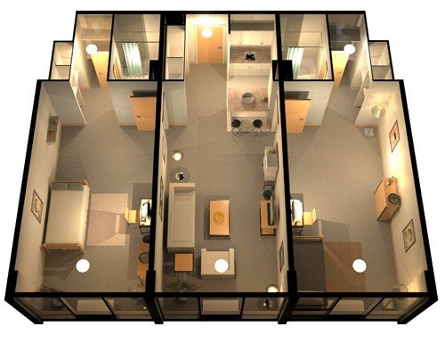 2 Bedrooms 2 Bathrooms Apartment for rent at The Regency in Denver, CO