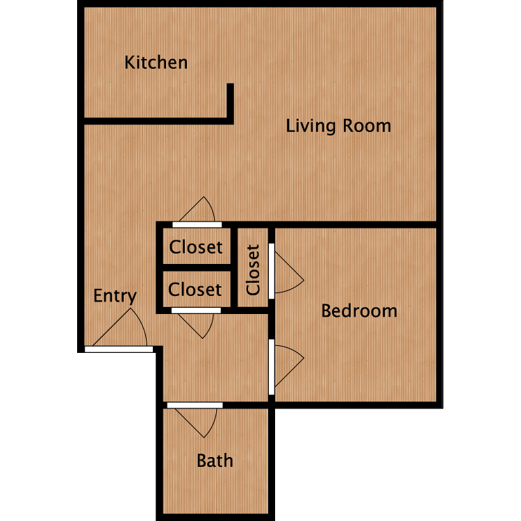 1 Bedroom 1 Bathroom Apartment for rent at The Q in Seattle, WA