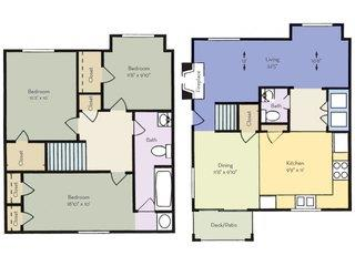 3 Bedrooms 1 Bathroom Apartment for rent at Regency Park Apartment Homes in Raleigh, NC