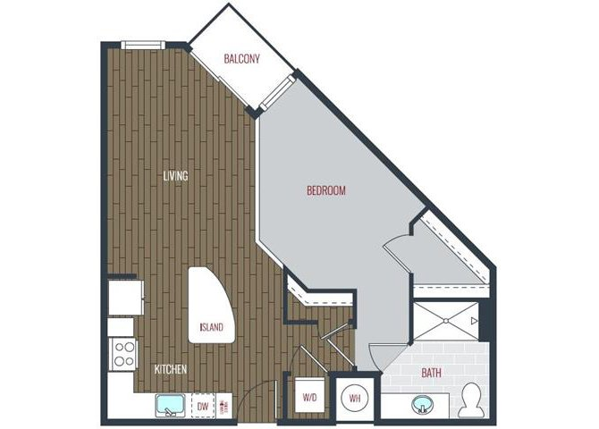 1 Bedroom 1 Bathroom Apartment for rent at Via Apartments in Denver, CO