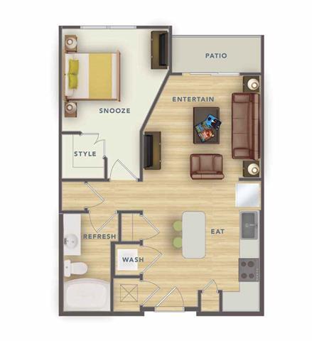 1 Bedroom 1 Bathroom Apartment for rent at Park 9 Apartments in Woodstock, GA