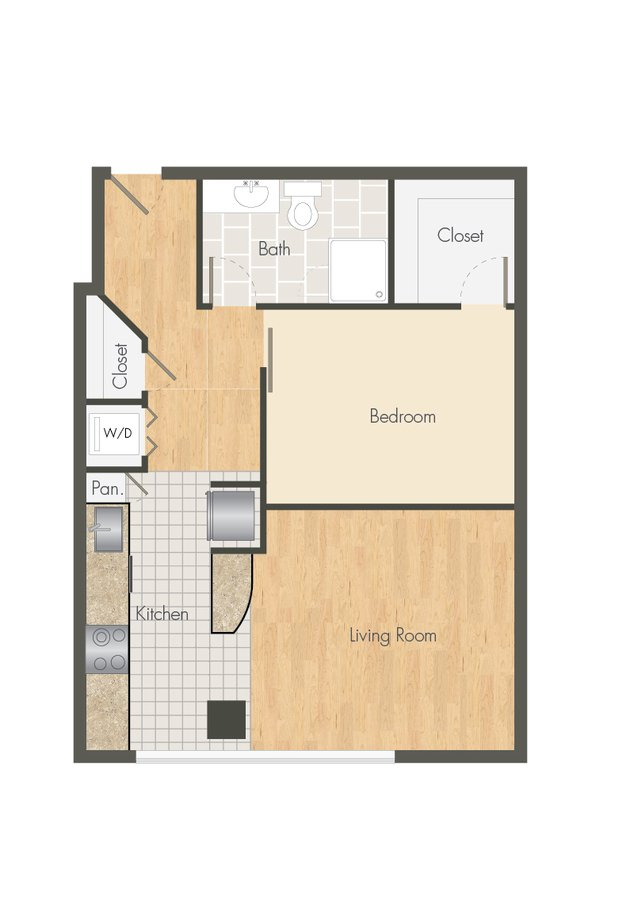 1 Bedroom 1 Bathroom Apartment for rent at Ballpark Lofts Apartments in Denver, CO