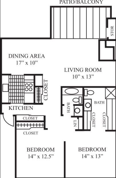 2 Bedrooms 2 Bathrooms Apartment for rent at Laguna Clara in Santa Clara, CA