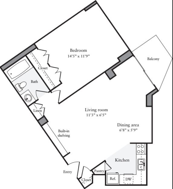 Wiring Diagram 1 Bedroom Apartment