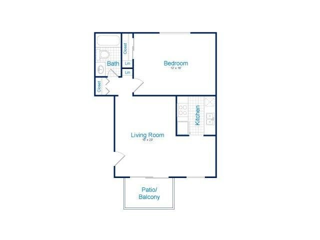 1 Bedroom 1 Bathroom Apartment for rent at Tempe Park Place in Tempe, AZ