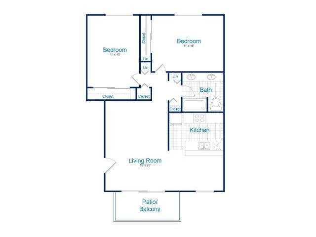 2 Bedrooms 1 Bathroom Apartment for rent at Tempe Park Place in Tempe, AZ