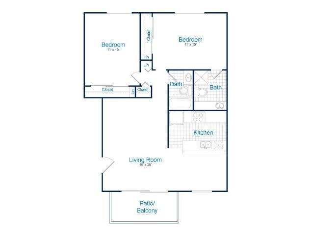 2 Bedrooms 2 Bathrooms Apartment for rent at Tempe Park Place in Tempe, AZ