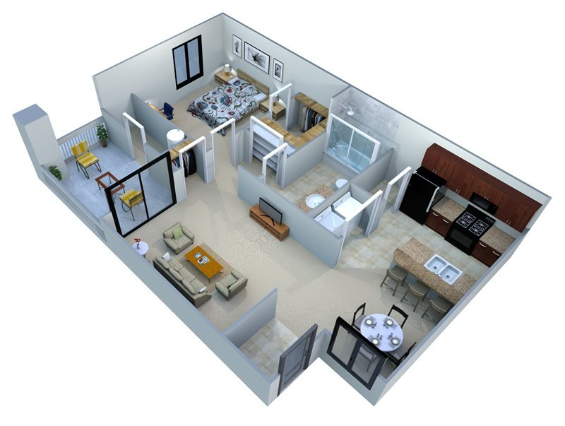1 Bedroom 1 Bathroom Apartment for rent at San Portella in Tempe, AZ