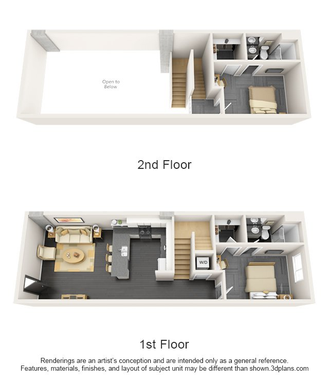 2 Bedrooms 2 Bathrooms Apartment for rent at The Vertex in Tempe, AZ