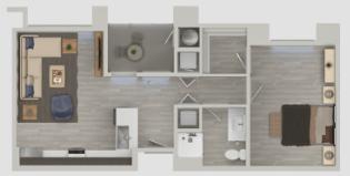 1 Bedroom 1 Bathroom Apartment for rent at Nexa in Tempe, AZ