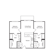 2 Bedrooms 2 Bathrooms Apartment for rent at The Avenue in Fayetteville, AR