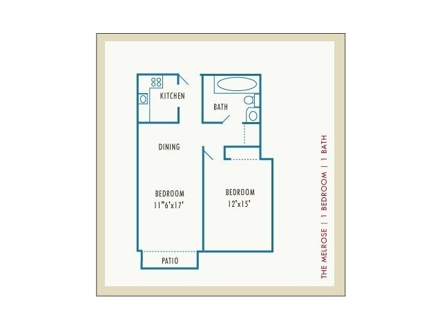 1 Bedroom 1 Bathroom Apartment for rent at Princeton Place in Worcester, MA