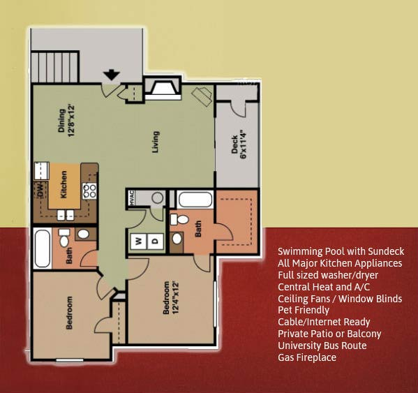 Chamberland Square Apartments Fayetteville, AR