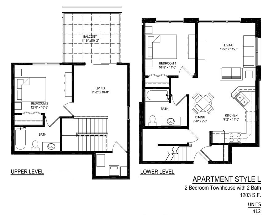 2 Bedrooms 2 Bathrooms Apartment for rent at Empire Place in Madison, WI