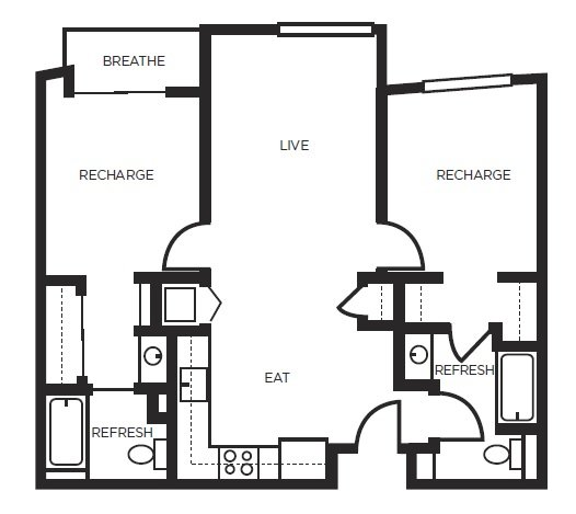 2 Bedrooms 2 Bathrooms Apartment for rent at 777 Broadway in Oakland, CA