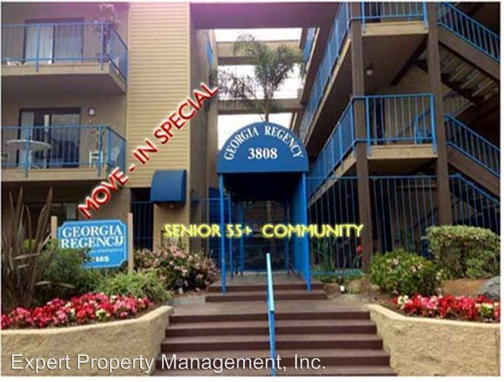 2 Bedrooms 1 Bathroom Apartment for rent at 3808 Georgia St. in San Diego, CA