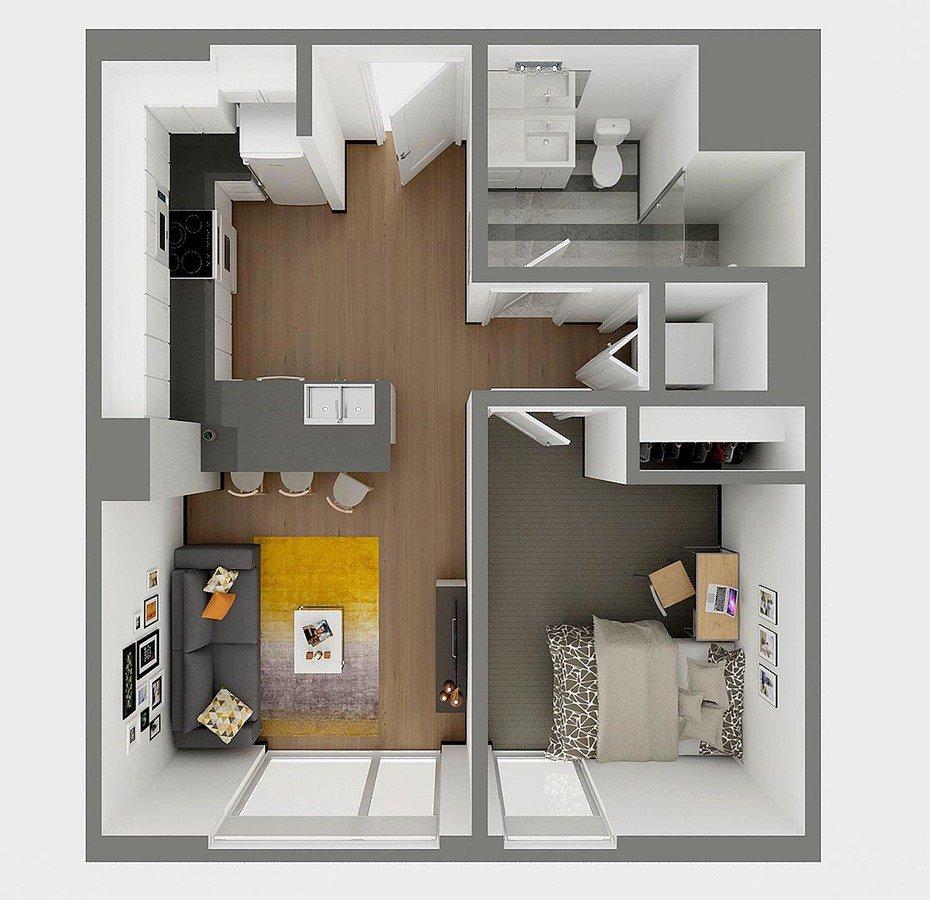 1 Bedroom 1 Bathroom Apartment for rent at Sol Y Luna in Tucson, AZ