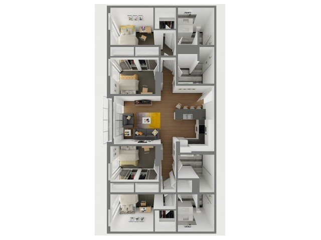 4 Bedrooms 4+ Bathrooms Apartment for rent at Sol Y Luna in Tucson, AZ