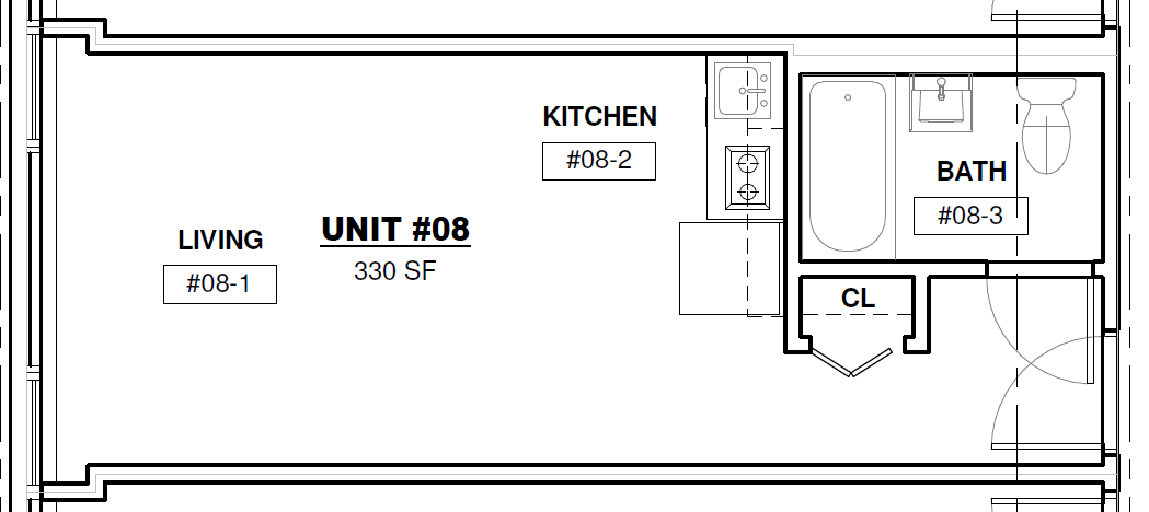 Studio 1 Bathroom Apartment for rent at 735 West in Milwaukee, WI