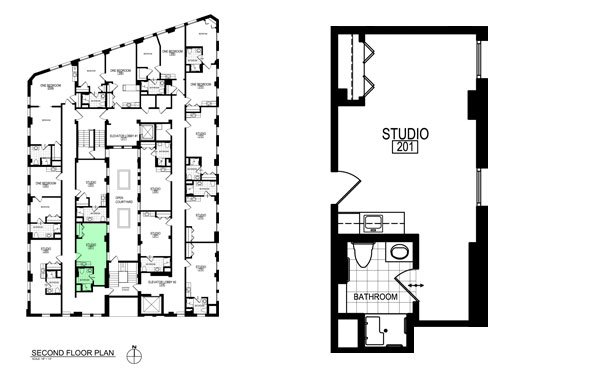 Studio 1 Bathroom Apartment for rent at Inman Place in Champaign, IL