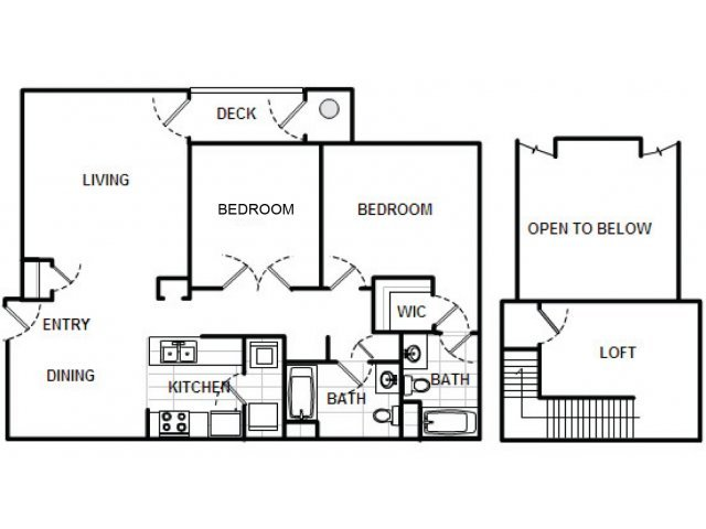 2 Bedrooms 2 Bathrooms Apartment for rent at Longview At Georgetown in Georgetown, MA