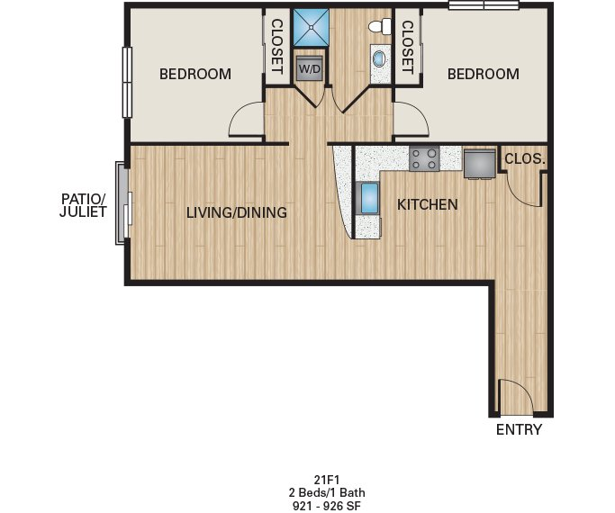 2 Bedrooms 1 Bathroom Apartment for rent at The Battery On Blake Street in Denver, CO