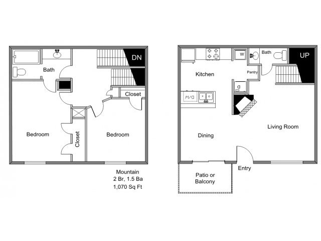 2 Bedrooms 1 Bathroom Apartment for rent at Park Timbers in Lewisville, TX