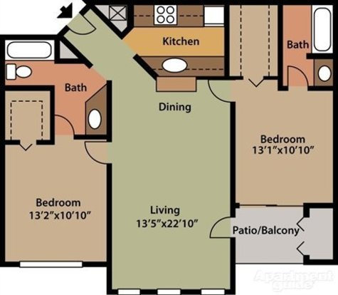 2 Bedrooms 2 Bathrooms Apartment for rent at Sienna At Vista Lake in Fort Myers, FL