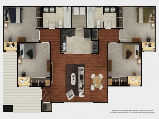 2 Bedrooms 2 Bathrooms Apartment for rent at The Mark At Lexington in Lexington, KY