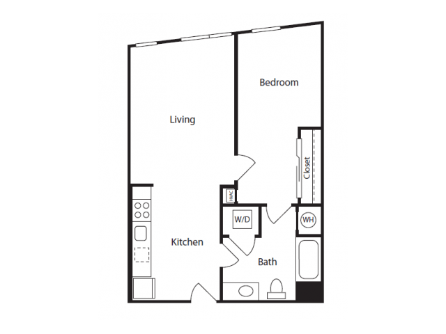 1 Bedroom 1 Bathroom Apartment for rent at The Overlook at St. Gabriel's in Brighton, MA