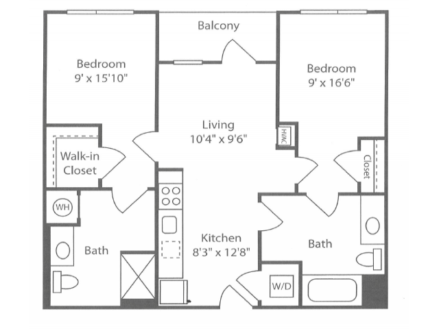 2 Bedrooms 2 Bathrooms Apartment for rent at The Overlook at St. Gabriel's in Brighton, MA