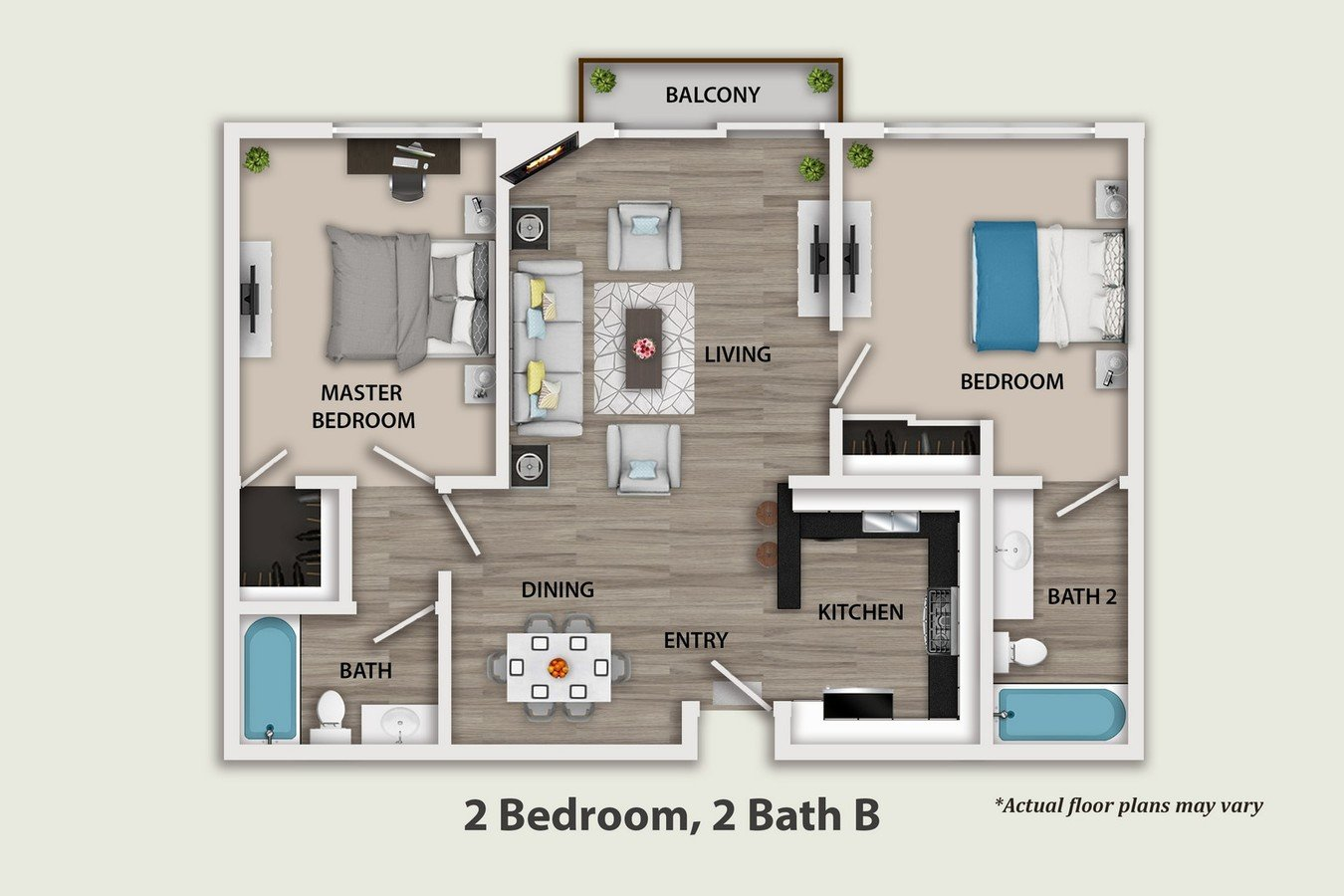 2 Bedrooms 2 Bathrooms Apartment for rent at Beverlywood Luxury Apartments in Los Angeles, CA