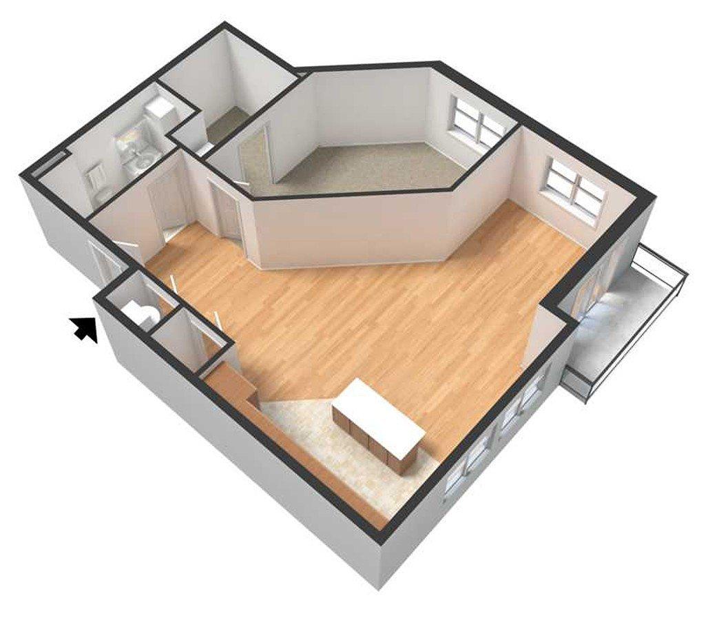 1 Bedroom 1 Bathroom Apartment for rent at Centerline in Omaha, NE