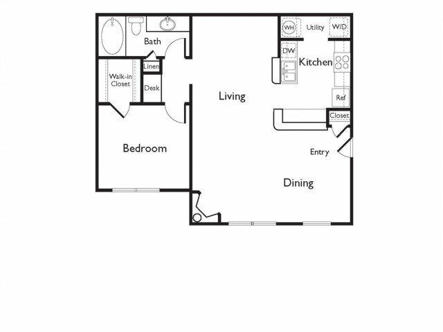 1 Bedroom 1 Bathroom Apartment for rent at Arboretum At South Mountain in Phoenix, AZ
