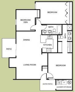 3 Bedrooms 2 Bathrooms Apartment for rent at Las Casitas in Avondale, AZ