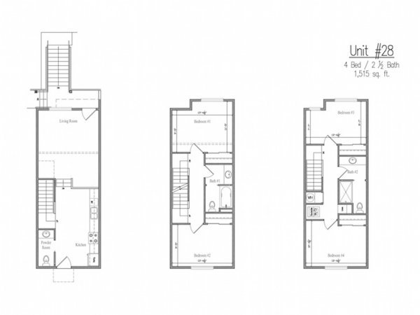 4 Bedrooms 3 Bathrooms Apartment for rent at The Studies in Eugene, OR