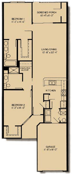 2 Bedrooms 2 Bathrooms Apartment for rent at Asbury Park in Gainesville, FL