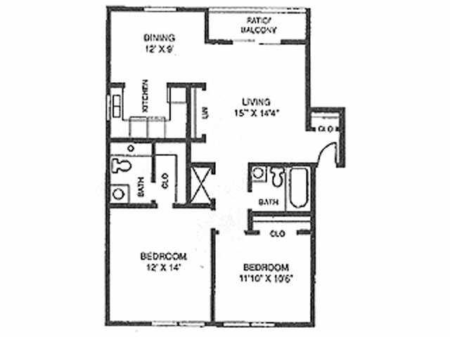 2 Bedrooms 2 Bathrooms Apartment for rent at La Esperanza in Jacksonville, FL