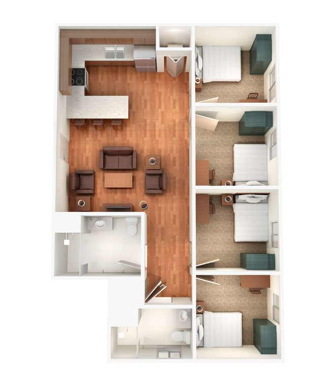 Apartment Complex Charleston Sc: Sterling Campus Center Apartments Charleston, SC
