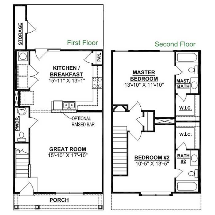 2 Bedrooms 2 Bathrooms House for rent at Cottages At Mt. View in Antioch, TN