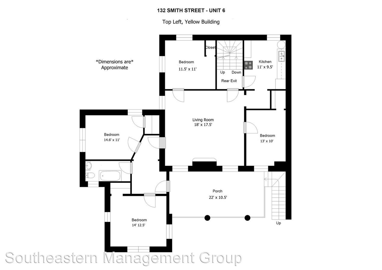 3 Bedrooms 1 Bathroom Apartment for rent at 132 Smith Street in Charleston, SC