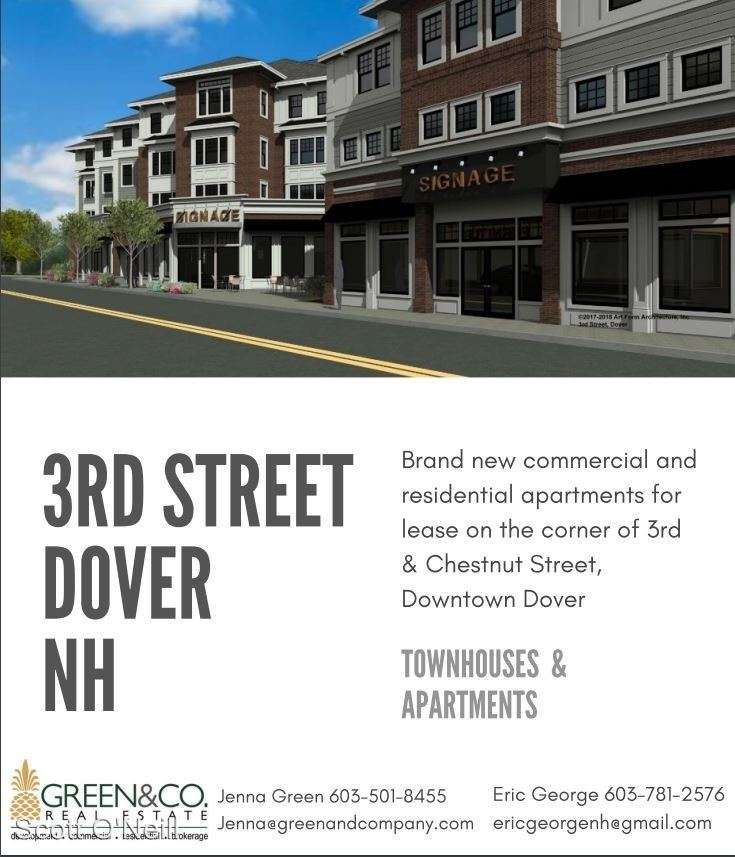 2 Bedrooms 1 Bathroom Apartment for rent at 21 Third St in Dover, NH