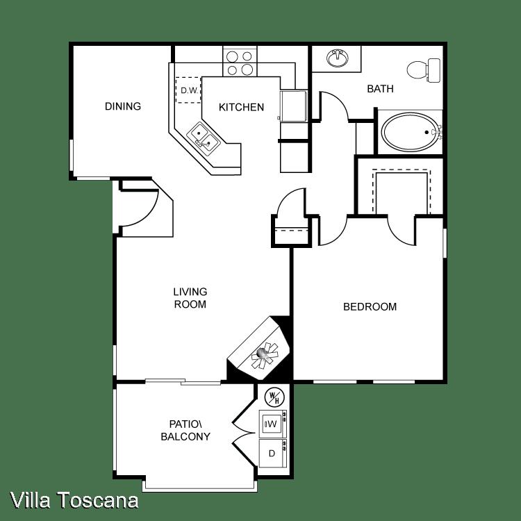 1 Bedroom 1 Bathroom Apartment for rent at 1451 Brabham St in El Cajon, CA
