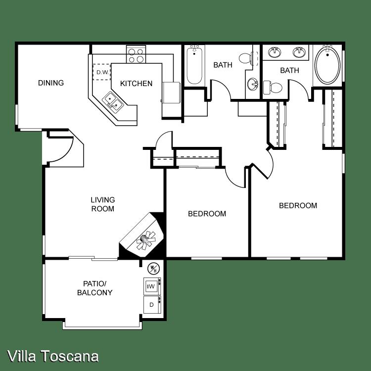 2 Bedrooms 2 Bathrooms Apartment for rent at 1451 Brabham St in El Cajon, CA